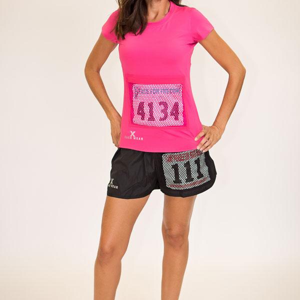 Women's Pink Running Shirt