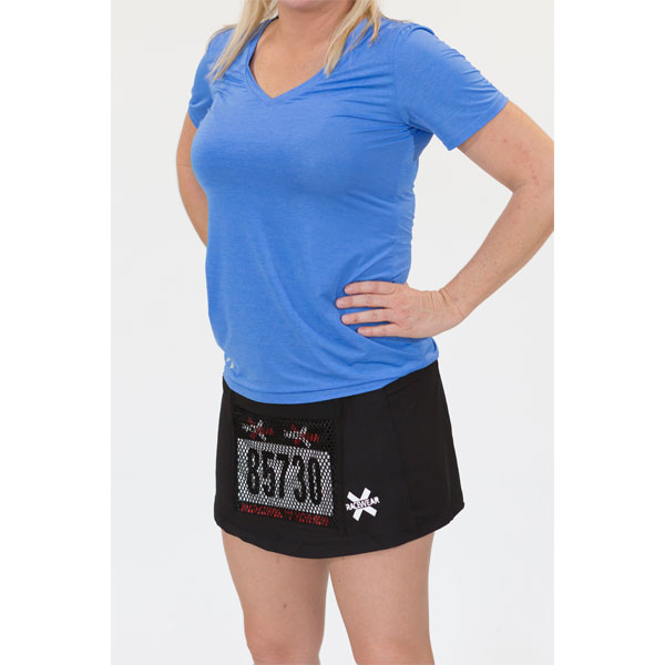 Running Skirt with Bib Pocket