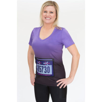 Womens-Running-Top-Bib-Protector-Pocket-FLARE-Purple-2