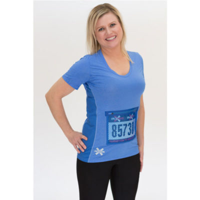 Womens-Running-Top-Race-Bib-Protector-Pocket---Breez-Heather-Blue-2